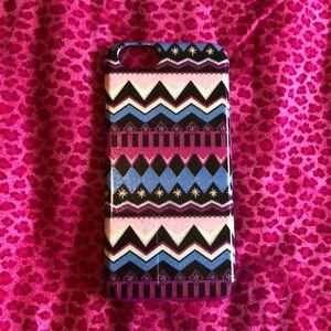 EUC Vera Bradley iPhone 5 cell phone case